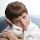 04 Easter Special: child portrait boy with easter bunny