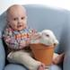 08 Easter Special: boy in blue chair and bunny in pot