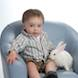 Easter Special: child portrait blue chair boy and bunny