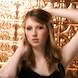 Columbia Missouri Senior Portraits: model with golden background