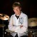 Senior Pictures: High School Senior boy with drum set