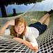 Senior Portraits: Senior girl in hammock