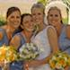 columbia missouri wedding photographer: bride and bridesmaids