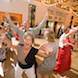 columbia missouri wedding photographer: reception dance having fun